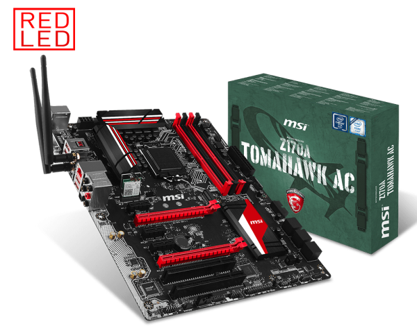 MSI Z170A THOMAHAWK AC SUPPORT 7GPU